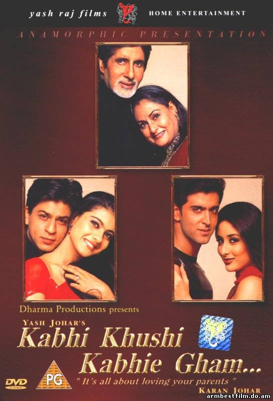 Kabhi khushi kabhi gham full movie, also known as k3g, is a 2001 indian drama film written and directed by karan